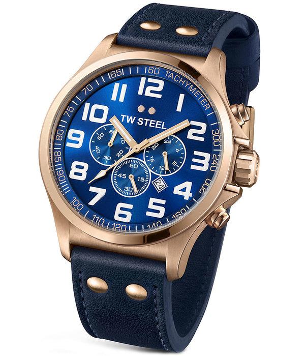 TW-Steel TW-Steel TW406 Pilot chronograaf 45mm 5ATM