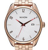 NIXON A418-2183 Bullet All Rose Gold Silver 38mm 5ATM