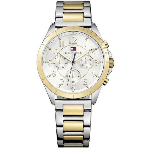 Tommy Hilfiger Kingsley TH1781607 - Horloge - bicolor gouden Stalen band - 36 mm - 3 ATM