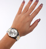 Tommy Hilfiger Kingsley TH1781607 - Horloge - bicolor gouden Stalen band - 36 mm - 3 ATM