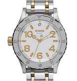NIXON A410-1921 38-20 Zilver Goud 38mm Zilver 38-20, 20ATM