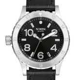 NIXON A467-1886 38-20 Leather Black Gator 38mm 20ATM