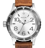 NIXON A467-1888 38-20 Leather Saddle Gator 38mm 20ATM