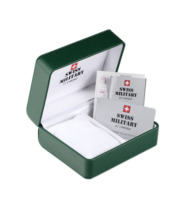 Swiss Military 34012.11 chronograaf 41mm 5 ATM