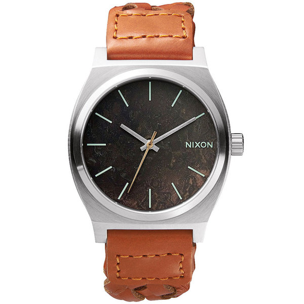 NIXON A045-1959 Time Teller Dark Copper Saddle Woven 37mm 10ATM