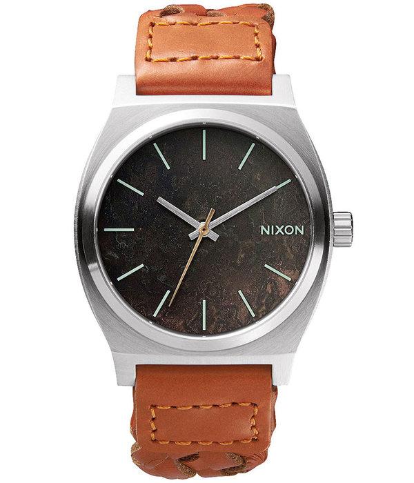 NIXON A045-1959 Time Teller Dark Copper Saddle Woven 37mm 10ATM