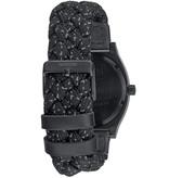NIXON A045-1941 Time Teller zwart reflecterend geweven 37 mm 10ATM
