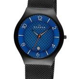 Skagen SKW6147 Herenhorloge Titanium zwart blauw 41mm