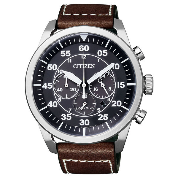Citizen 4210-16E Eco-Drive Chronograaf 45mm 10ATM