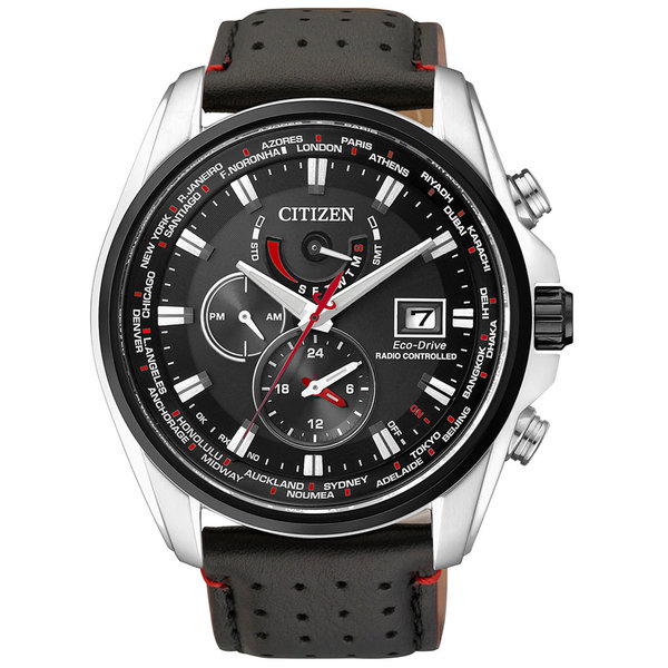Citizen AT9036-08E Eco-Drive heren radiogestuud horloge Saffierglas 10ATM 44mm