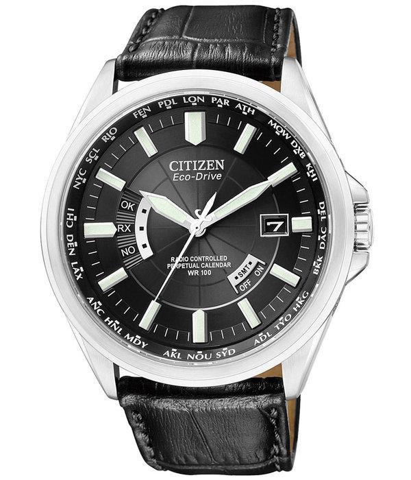 Citizen CB0010-02E Eco-Drive Mannen Radiogestuurde Horloge Saffier 10ATM 43mm