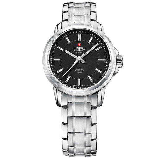 Swiss Military 34040.01 Dames saffierglas 28mm 10ATM