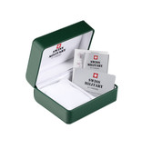 Swiss Military 34039.01 Heren saffier glas 40mm 10ATM