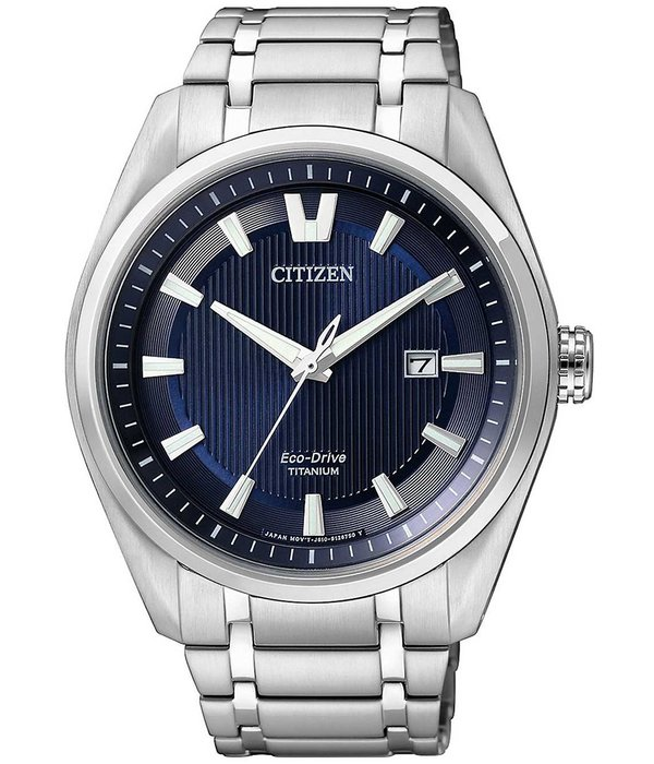 Citizen AW1240-57L Eco-Drive Super-Titanium heren 42mm 10ATM