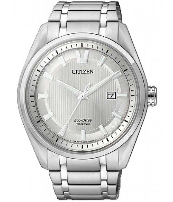 Citizen AW1240-57A Eco-Drive Super-Titanium heren 42mm 10ATM