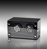 Rothenschild Watchwinder - Horlogewinder Rothenschild Chicago RS-2298-BK voor 2 horloges