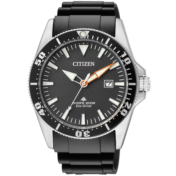 Citizen BN0100-42E Eco-Drive Promaster Sea duikershorloge  41mm 20ATM