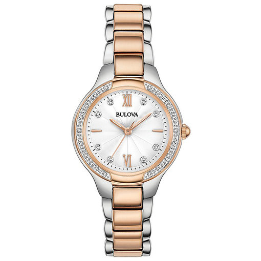 Bulova Bulova 98.R.272 28 mm Diamanten Dames