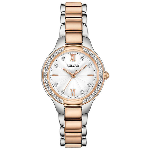 Bulova 98.R.272 28 mm Diamanten Dames