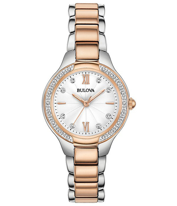 Bulova Bulova 98.R.272 28 mm met Diamanten Dames