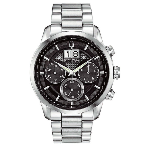 Bulova 96.B.3.19 Sutton Chronograaf 44 mm