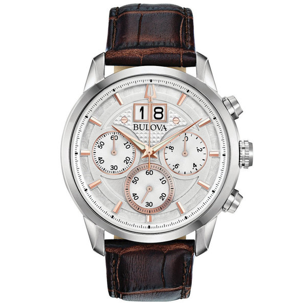 Bulova 96.B.309 44 mm Sutton Chronograaf