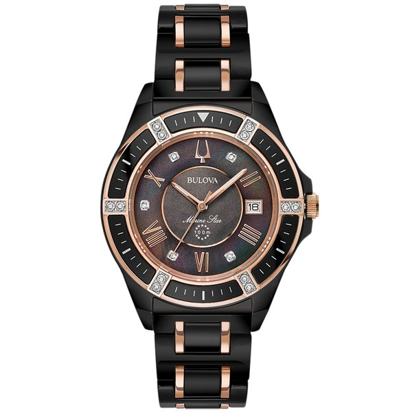 Bulova 98.R.242 37 mm Marine Star Dames