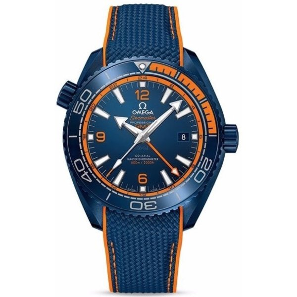 Omega Seamaster Planet Ocean 600M Co-Axial Master Chronometer 21592462203001 Gmt Big Blue
