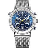 Rotary Rotary GB05235/05 Henley Chronograph 42mm 5ATM