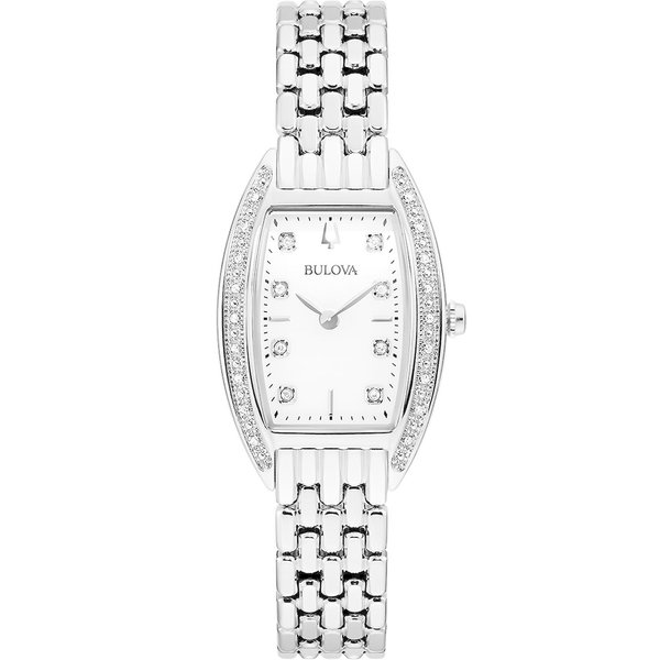 Bulova 96R244 diamantenuurwerk (24) dames 24mm 3ATM