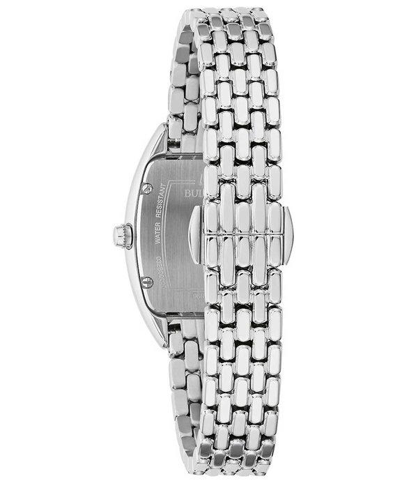Bulova Bulova 96R244 diamantenuurwerk (24) dames 24mm 3ATM
