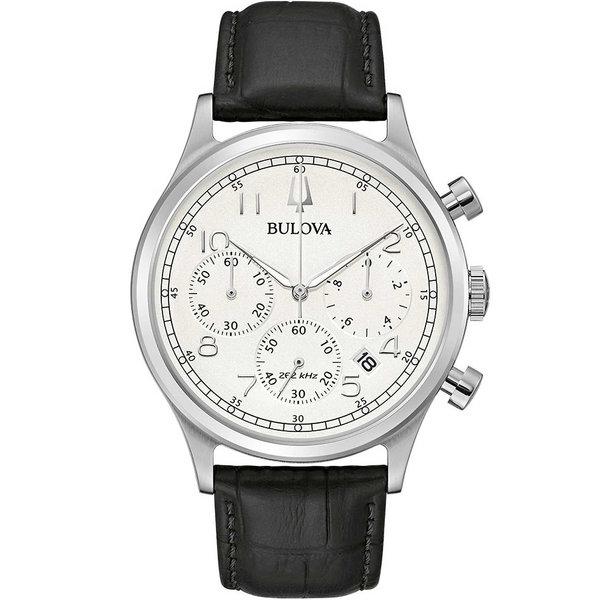Bulova 96B354 heren klassiek chronograaf 43mm 3ATM