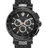 Versace Versace VEFG02020 Mystique Heren Sport Chronograaf 43mm 5ATM
