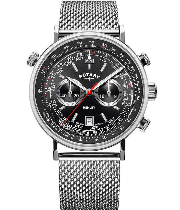Rotary Rotary GB05235/04 Henley Chronograph Heren 42mm 5ATM