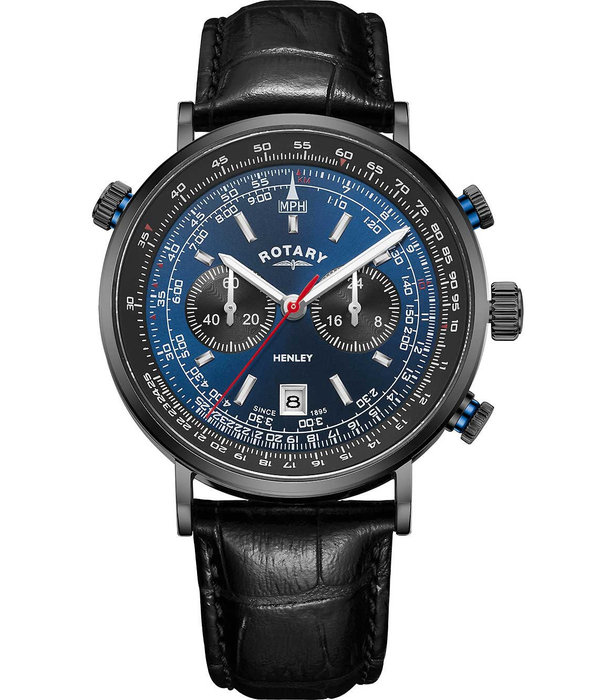 Rotary Rotary GS05238/05 Henley Chronograph Heren 42mm 5ATM