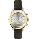 Versace Versace VEV600219 Signature Chronograaf Heren 44mm 5ATM