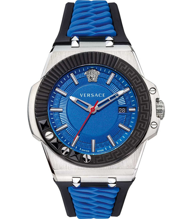 Versace Versace VEDY00119 Chain Reaction Heren horloge 46mm 5ATM