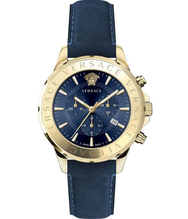 Versace Versace VEV600319 Signature Chronograaf Heren 44mm 5ATM