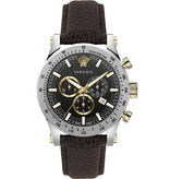 Versace Versace VEV800119 Sporty Chronograaf Heren 44mm 5ATM