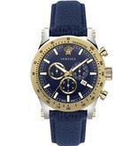 Versace Versace VEV800219 Sporty Chronograaf Heren 44mm 5ATM