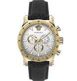 Versace Versace VEV800319 Sporty Chronograaf Heren 44mm 5ATM