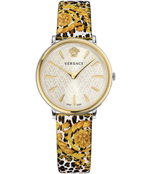 Versace Versace VBP120017 V-Circle Dames 36mm 5ATM