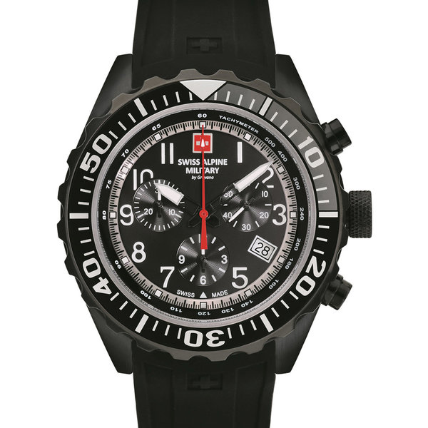 Swiss Alpine Military 7076.9877 Chrono 44mm 10ATM