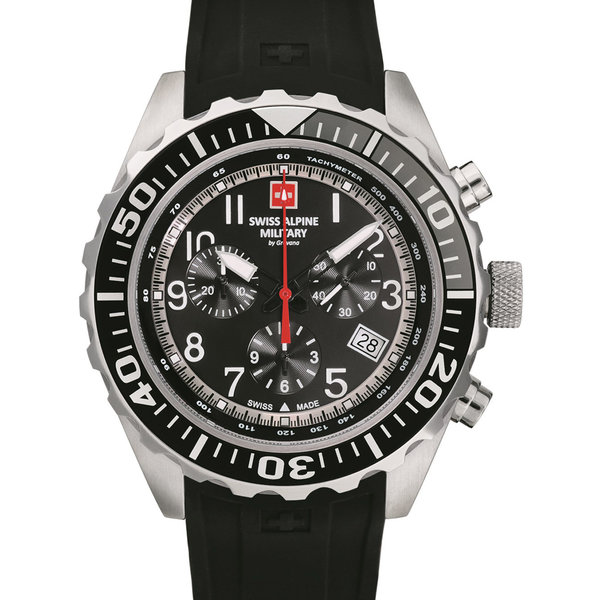 Swiss Alpine Military 7076.9837 Chrono 44mm 10ATM