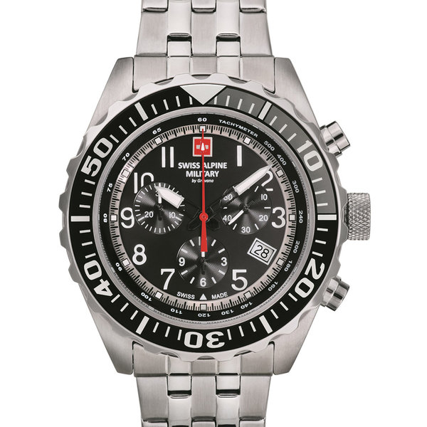 Swiss Alpine Military 7076.9137 Chrono 44mm 10ATM