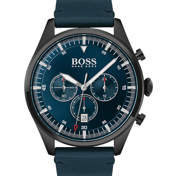 Hugo Boss 1513711 Pioneer Chronograaf Heren 44mm 5ATM
