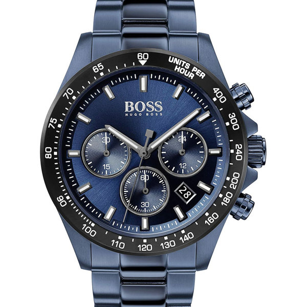 Hugo Boss 1513758 Hero Chronograaf Heren 43mm 5ATM