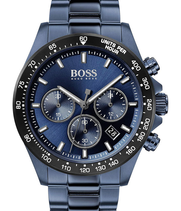 Hugo Boss 1513758 Hero Chronograaf Heren 43mm 5ATM
