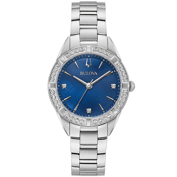 Bulova klassiek dames 96R243 32mm 3ATM