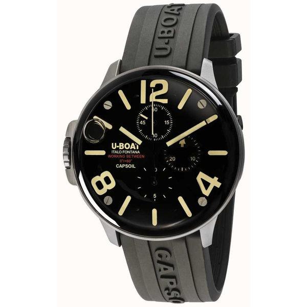 U-Boat Heren 8111/B Capsoil Quarz Chronograaf 45mm 10ATM